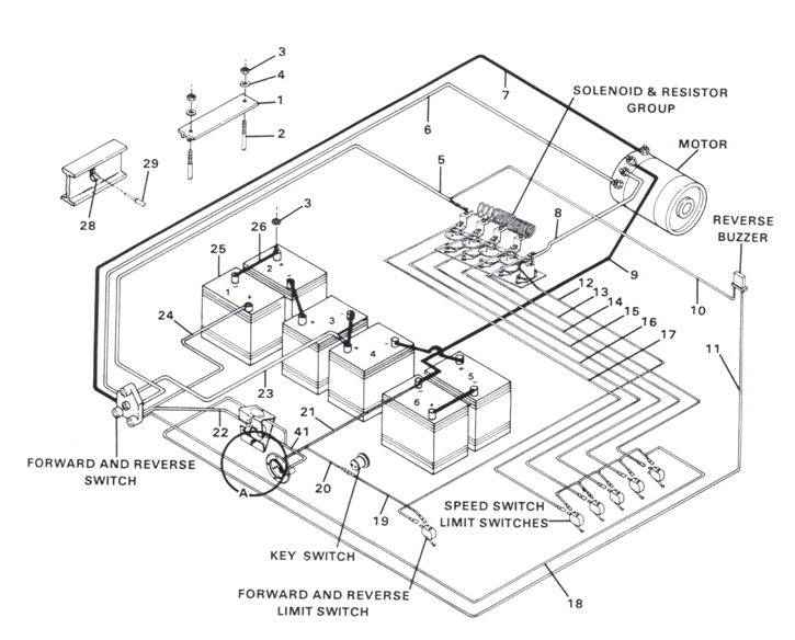 1985 Club Car Wiring Diagram